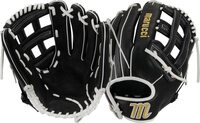 Soft-tumbled cowhide shell increases durability while reducing weight Cushioned leather finger lining provides better comfort and fielding security Pro-style patterns designed specifically for fastpitch players Narrow-fit hand opening provides better fit and fielding control Pro-grade rawhide laces add strength and increase longevity
