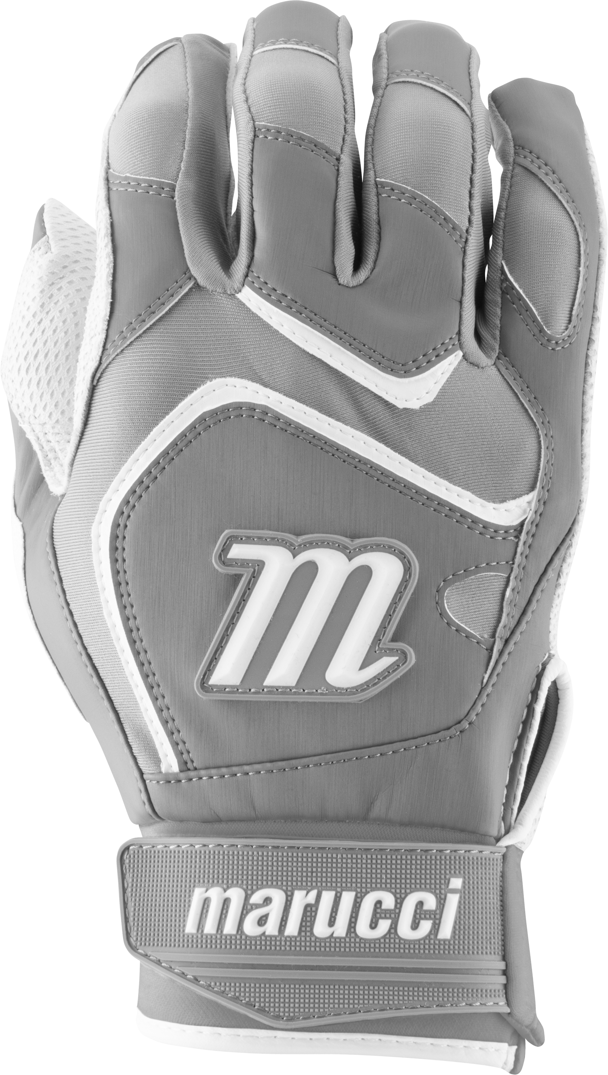 marucci-signature-batting-gloves-mbgsgn2-1-pair-white-grey-adult-medium MBGSGN2-WGY-AM  849817096796 2019 Model MBGSGN2 Consistency And Craftsmanship Commitment To Quality And Understanding