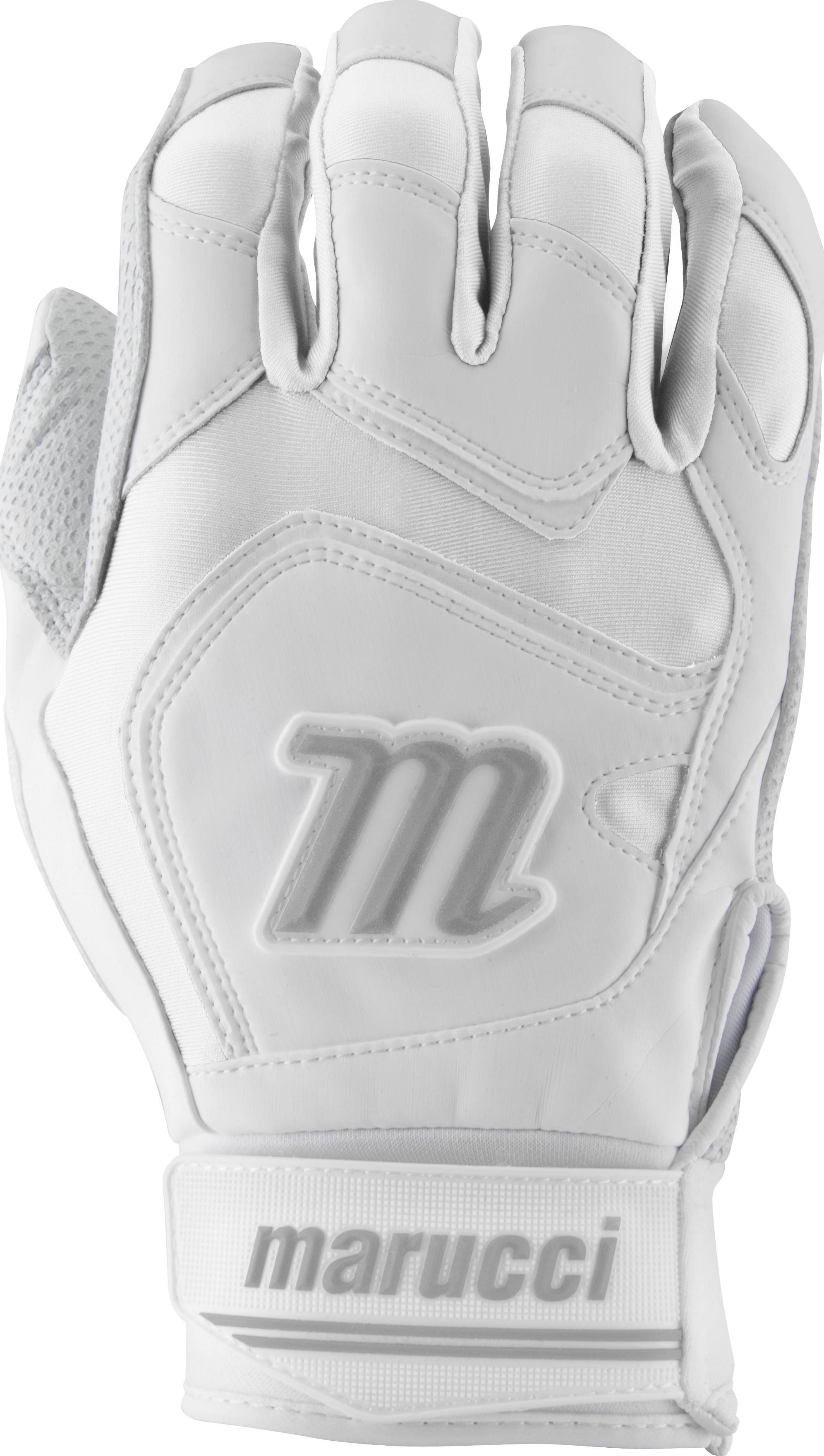 marucci-signature-batting-gloves-mbgsgn2-1-pair-white-white-adult-medium MBGSGN2-WW-AM Marucci 849817096840 2019 Model MBGSGN2 Consistency And Craftsmanship Commitment To Quality And Understanding