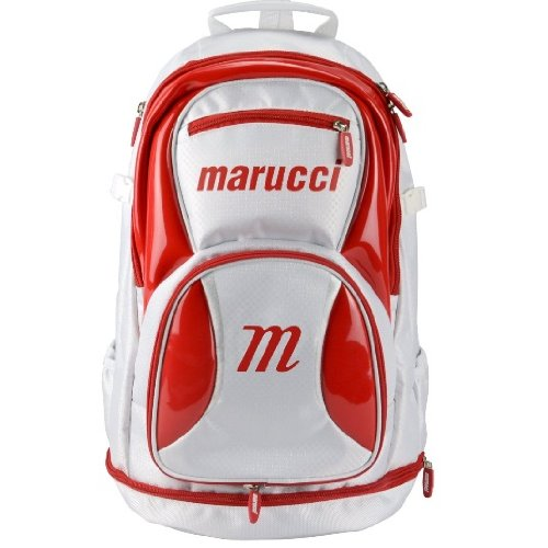 marucci-team-back-pack-white-red TEAMBK13-WhiteRed Marucci New Marucci Team Back Pack WhiteRed  About Marucci Sports Based in