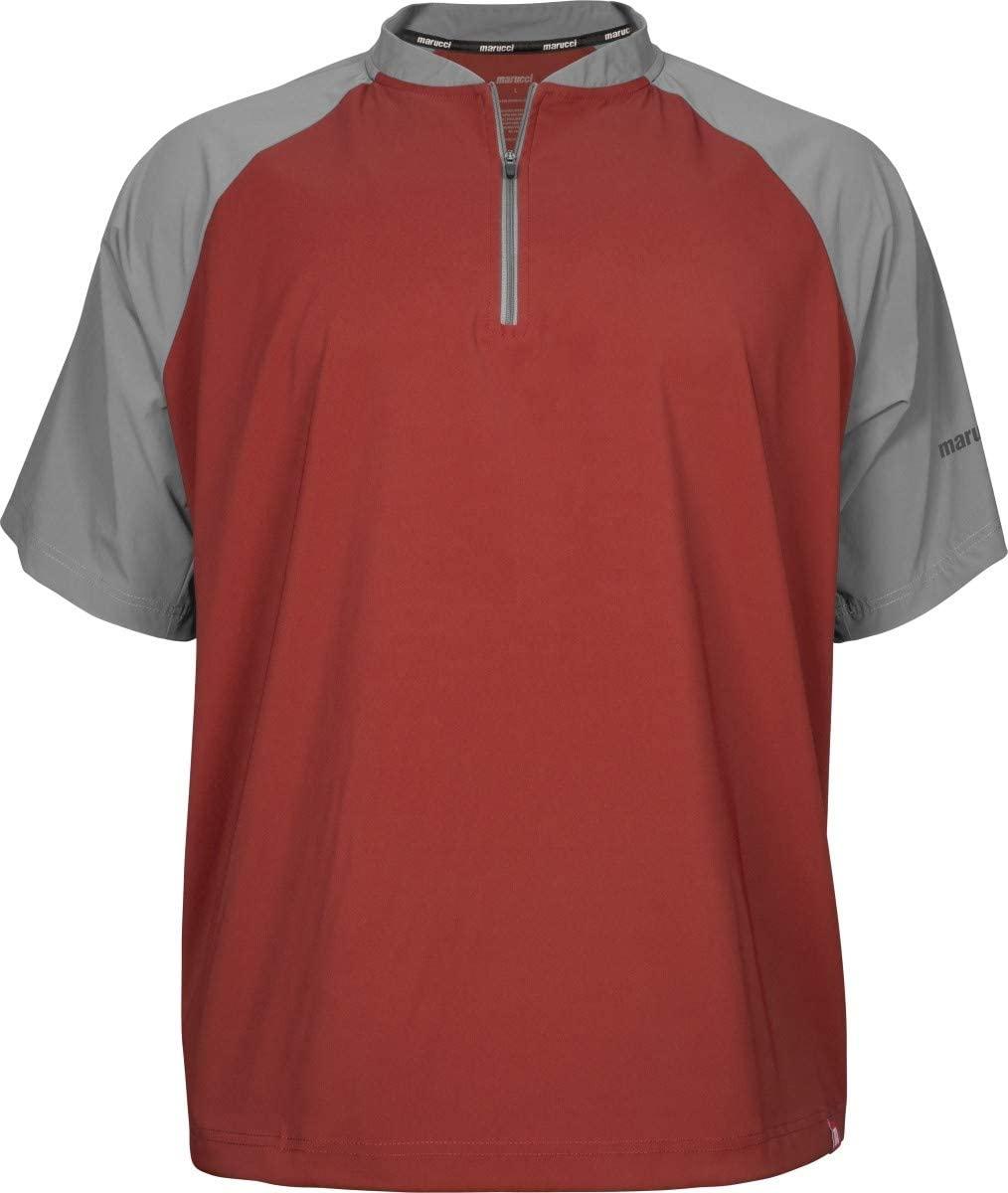 marucci-team-cage-jacket-red-matcgj-r-as-baseball-outerwear MATCGJ-R-S Marucci