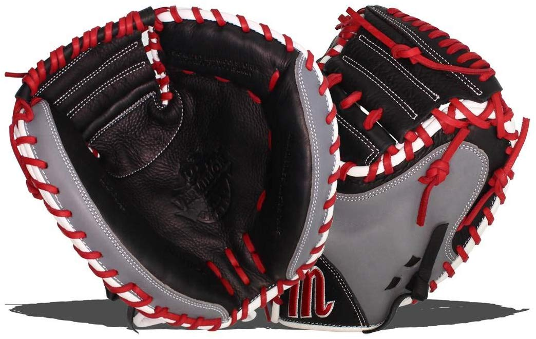 marucci-vermilion-series-32-inch-youth-catchers-mitt-mfgvr2y-right-hand-throw MFGVR2Y-BK-RightHandThrow Marucci 849817099698 32.00 Inch Glove Pattern Designed To Be Lightweight & Controllable Single