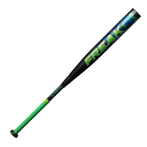 miken-2018-mf20ba-freak-balanced-20th-anniv-slowpitch-softball-bat-34-inch-26-oz MF20BA-3-26  658925038211 <span>EATURES 4-Piece Bat Construction 100% Composite Design 100COMP Triple Matrix Core