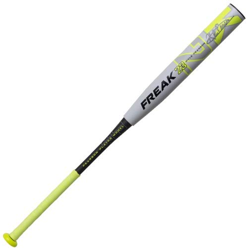 miken-2019-freak-23-maxload-kyle-pearson-asa-sowpitch-softball-bat-mkp23a-34-inch-28-oz MKP23A-3-28  658925040931 12 Inch Barrel Length Maxload Weighting 3-Piece 100% Composite Design ASA