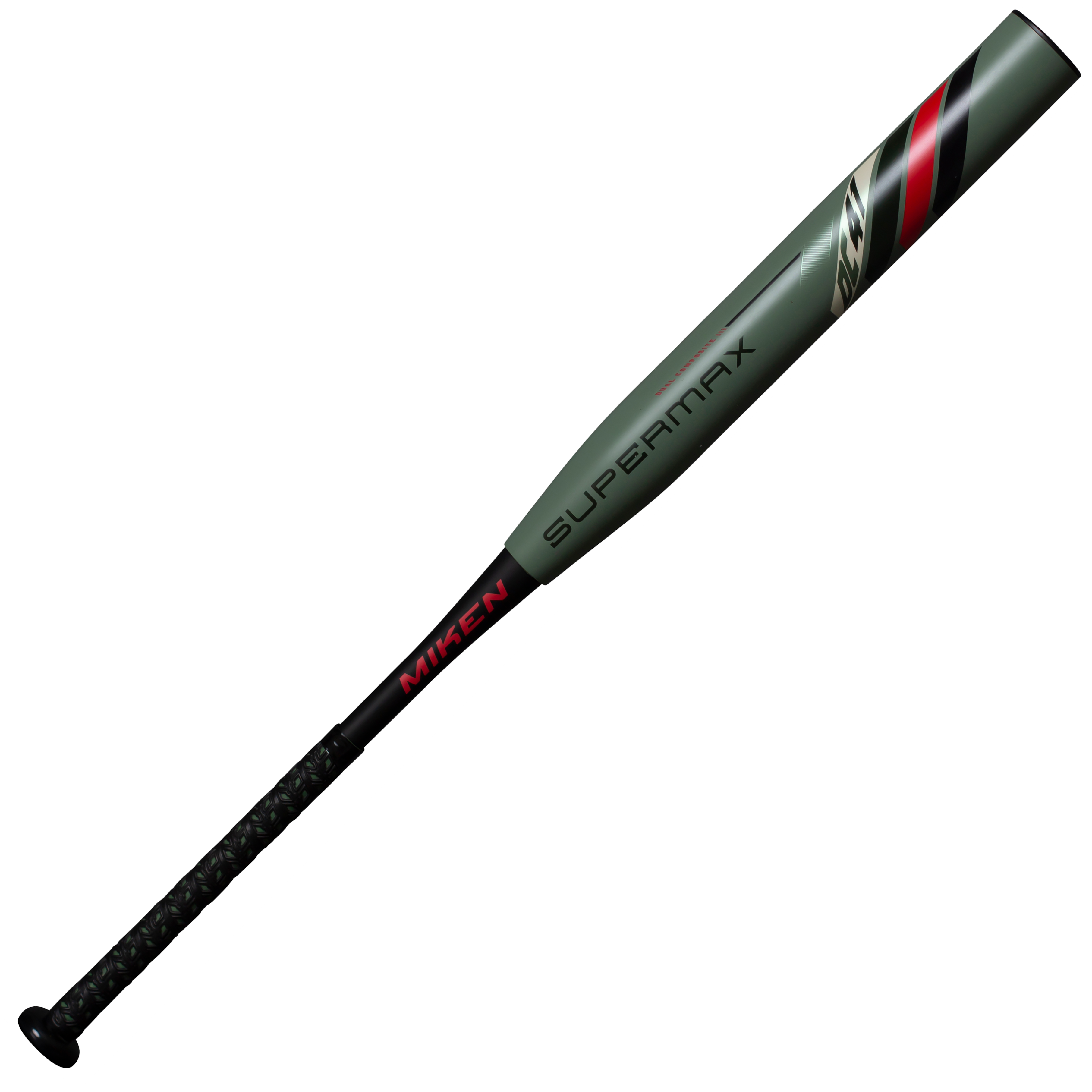 miken-2020-dc-41-14-inch-supermax-usssa-slow-pitch-softball-bat-34-inch-27-oz MDC20U-GRN-27 Miken