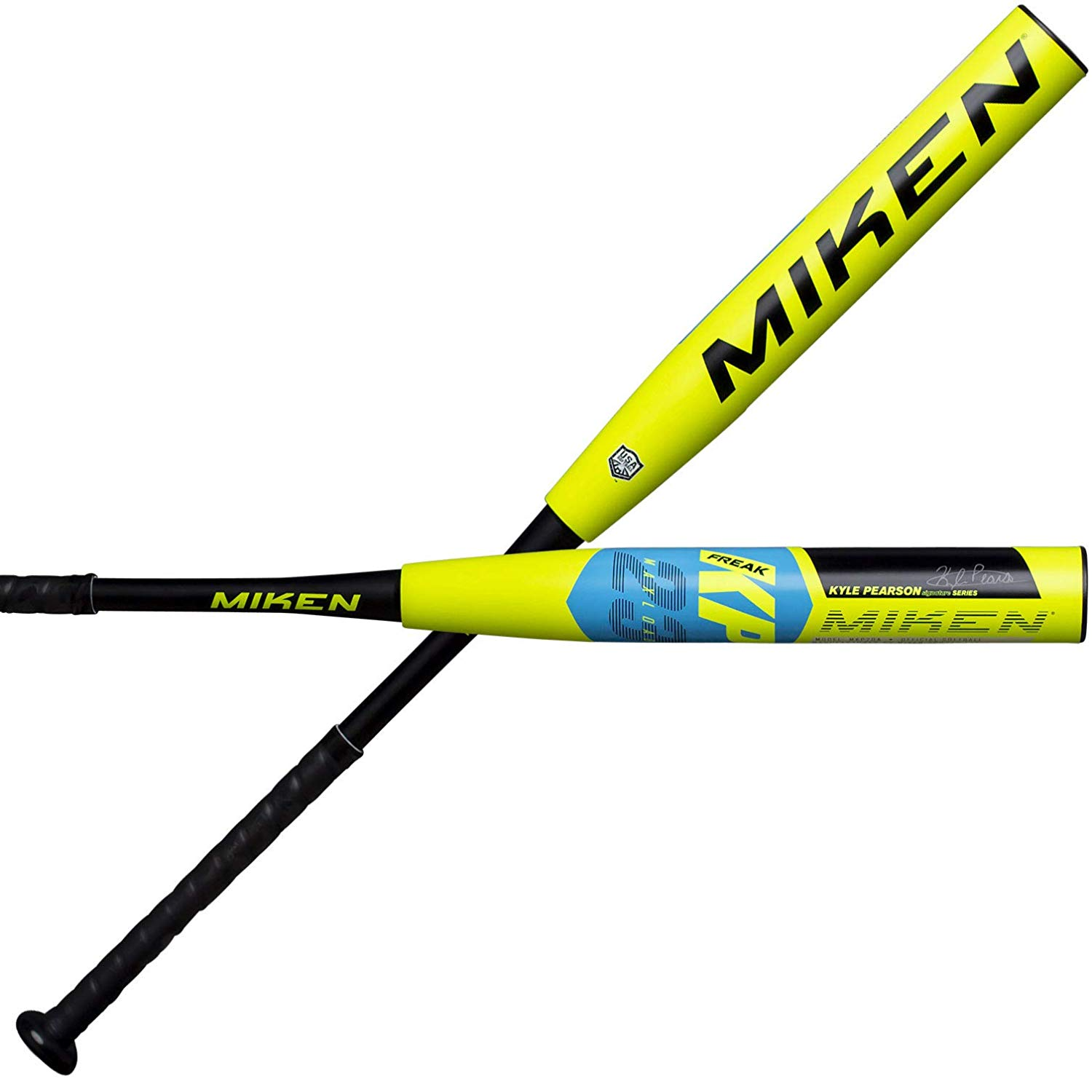 miken-2020-kyle-pearson-freak-23-maxload-asa-slow-pitch-softball-bat-34-inch-26-oz MKP20A-3-26 Miken 658925042935 DESIGNED FOR ADULTS PLAYING RECREATIONAL AND COMPETITIVE SLOWPITCH SOFTBALL this Miken