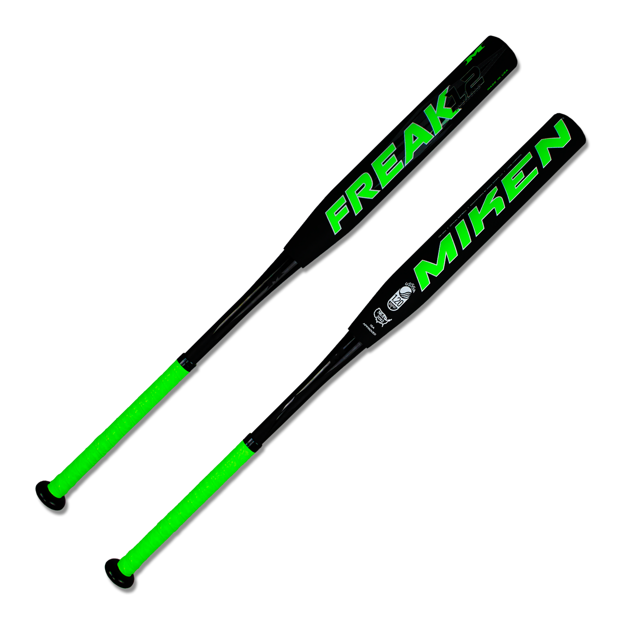 miken-freak-maxload-12-slow-pitch-softball-bat-34-inch-28-oz-fp12mu FB12MU-3-34-inch-28-oz  658925031892 Triple Matrix increases the exclusive aerospace grade material volume by 5%
