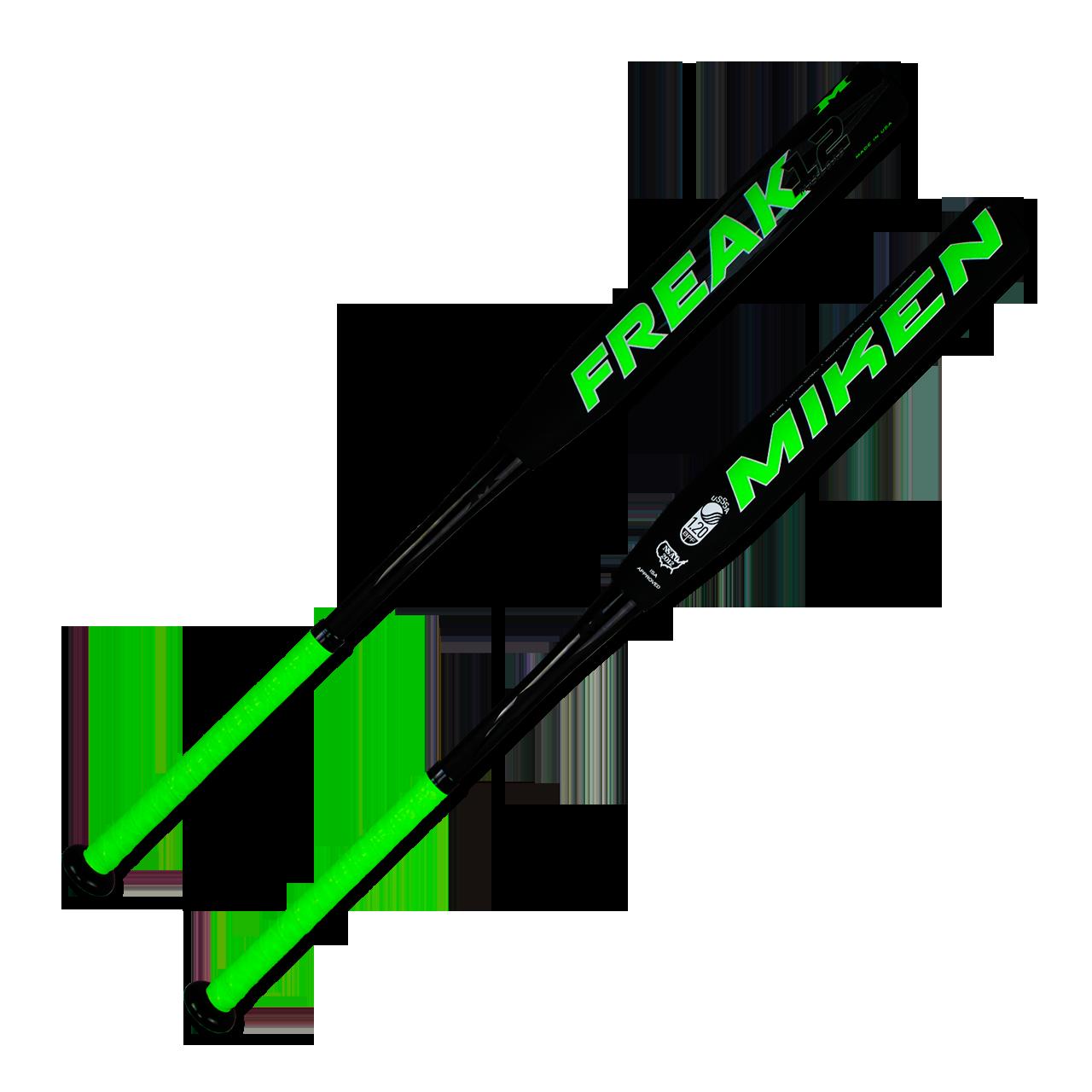 miken-freak-maxload-12-slow-pitch-softball-bat-34-inch-28-oz-fp12mu FB12MU-3-34-inch-28-oz Miken 658925031892 Triple Matrix increases the exclusive aerospace grade material volume by 5%