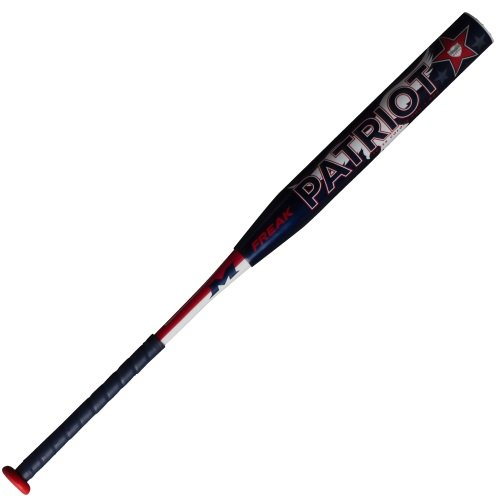 miken-freak-patriot-max-usssa-slowpitch-bat-mptrmu-28-oz MPTRMU-3-28 Miken 658925036750 The Freak Patriot boasts an endloaded feel with a large sweetspot.