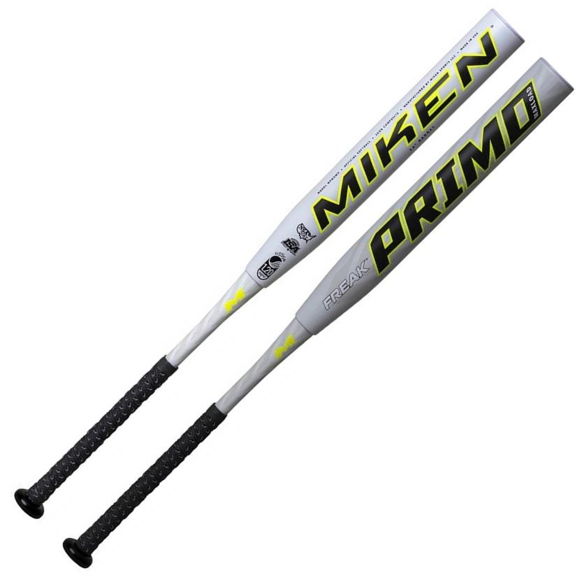 miken-freak-primo-maxload-usssa-slowpitch-softball-bat-14-barrel-34-inch-27-oz MPMOMU-3-27 Miken 658925043888 Mikens Triple Matrix Core + Tech increases our exclusive material volume