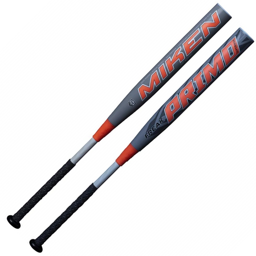 miken-freak-primo-supermax-asa-slowpitch-softball-bat-14-barrel-34-inch-28-oz MPMOSA-3-28  658925043734 Mikens breakthrough tetra-core tech optimizes performance by utilizing an inner core