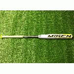 miken mkp 23a used asa slowpitch softball bat 34 inch 26 oz