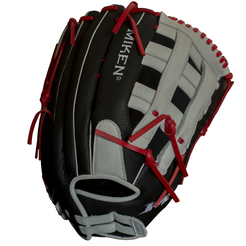 miken-player-series-slowpitch-softball-glove-13-5-in-left-hand-throw PS135-PH-LeftHandThrow  658925039997 The Player Series line of gloves from Miken feature professionally inspired