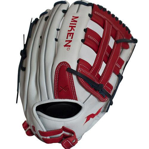 miken-pro-series-13-5-in-slowpitch-softball-glove-left-hand-throw PRO135-WSN-LeftHandThrow  658925039881 <span>Miken Pro Series 13.5 slow pitch softball glove features soft full-grain