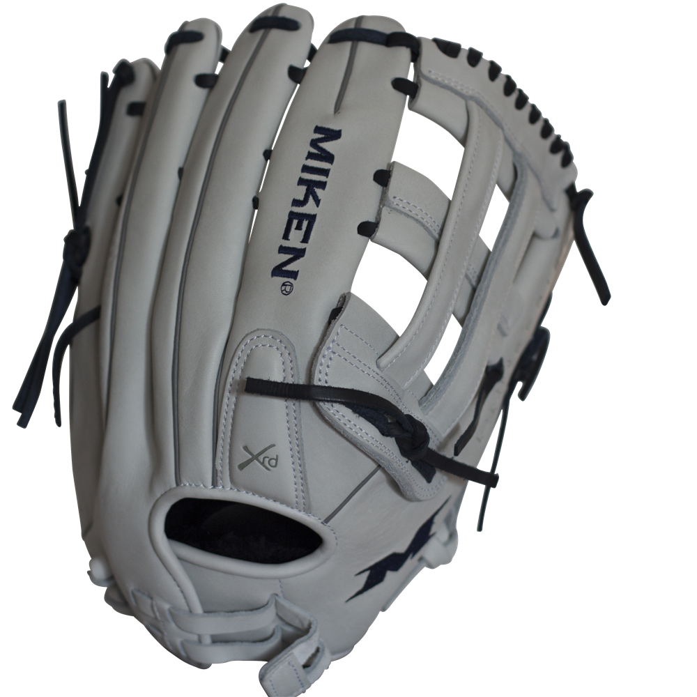miken-pro-series-14-inch-slow-pitch-softball-glove-pro140-wn-left-hand-throw PRO140-WN-LeftHandThrow  658925039966 <p>14.00 Inch Pattern Additional Finger Pad Support Colorway White | Scarlett