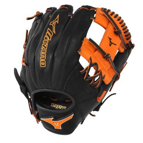 mizuno-11-5-inch-mvp-prime-se3-baseball-glove-gmvp1154pse3-black-orange-right-hand-throw GMVP1154PSE3-Black-OrangeRightHandThrow Mizuno 041969111444 Mizuno 11.5 inch MVP Prime SE3 Baseball Glove GMVP1154PSE3 Black-Orange Right