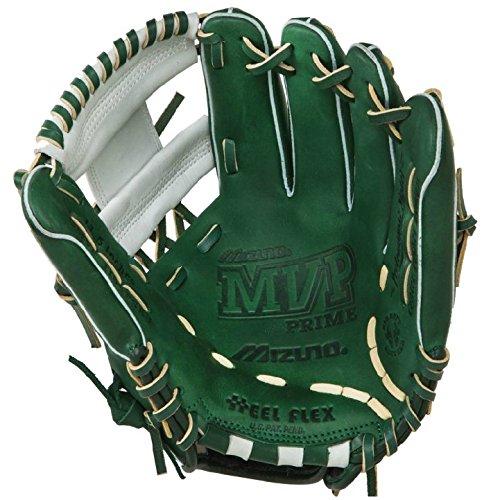 mizuno-11-5-inch-mvp-prime-se3-baseball-glove-gmvp1154pse3-forest-silver-right-hand-throw GMVP1154PSE3-Forest-SilverRightHandThrow Mizuno 041969111406 Mizuno 11.5 inch MVP Prime SE3 Baseball Glove GMVP1154PSE3 Forest-Silver Right