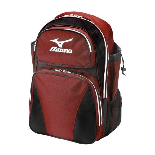 The Mizuno Organizer G3 Bat pack has enough space to store all of your equipment, including your helmet. With mesh pockets for water bottles and a utility pocket for small items, the Organizer G3 is the perfect bat pack.