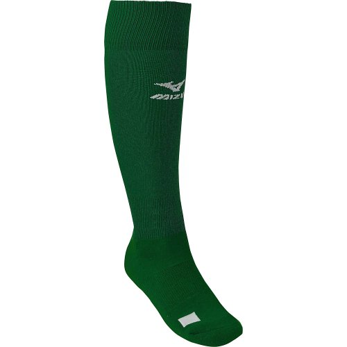 The Mizuno Performance Sock G2 features a gripper top to keep your socks up. Perfect for wearing under your baseballsoftball pants. The performance Sock G2 is now made from a NylonAcrylicPolyesterElastic blend and features a gripper top to keep socks up, padded footbed, Personalized Name Plate PNP on toe, ankle support, Y-Heel that locks the sock in place, and more arch support.