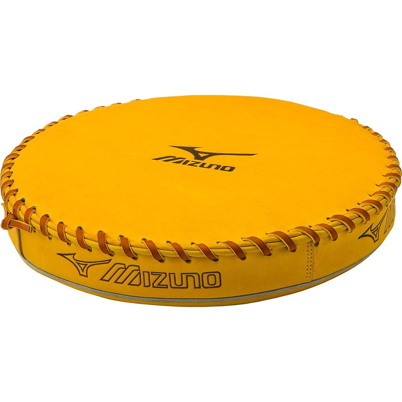 mizuno-baseball-glove-pounding-pad 370128 Mizuno 041969152898 Full grain leather shell.. Laced binding .Concave design helps break gloves