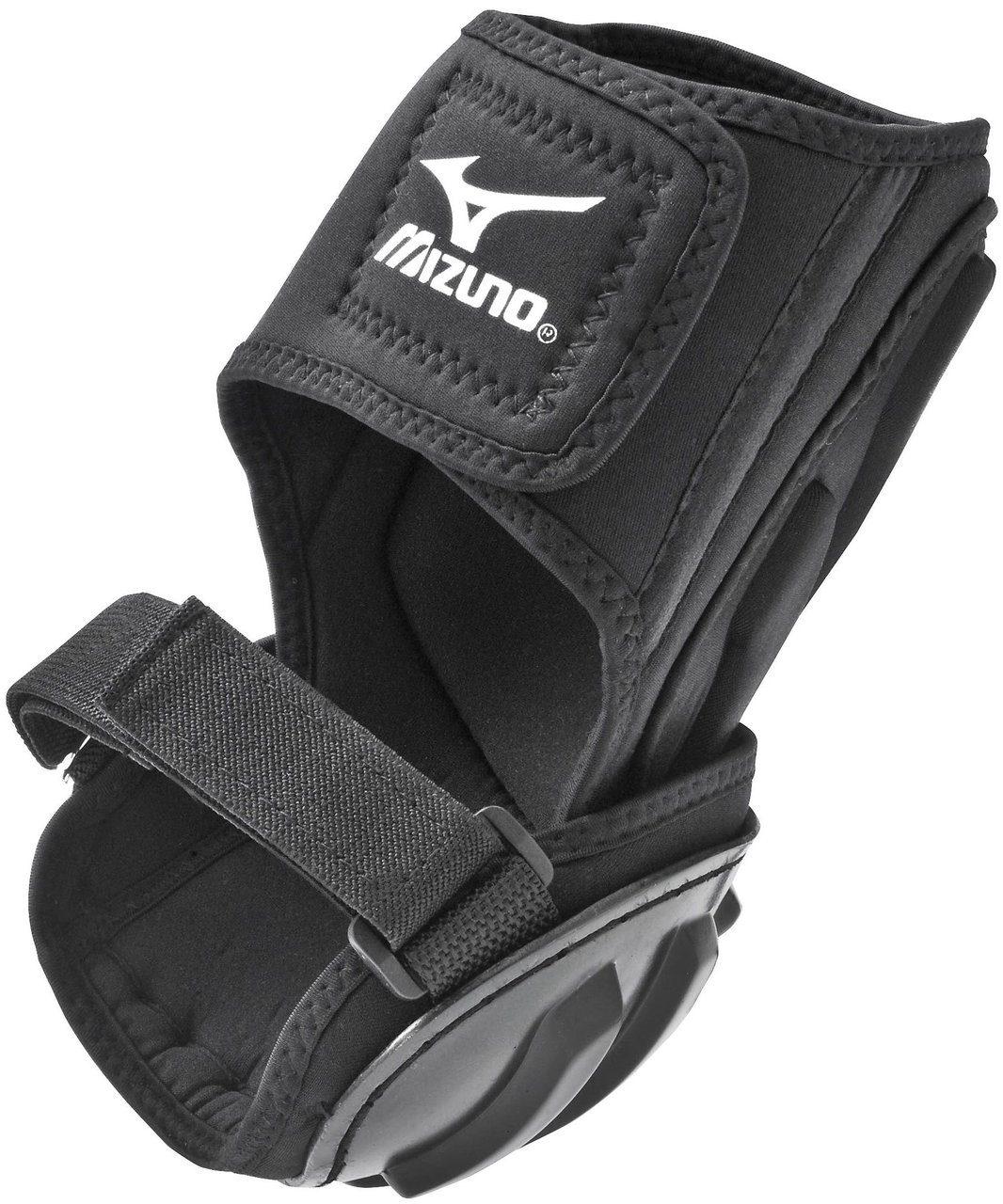 mizuno-batters-elbow-guard 380148 Mizuno 041969132234 Protect your elbow while batting. Molded ABS plastic cap for added