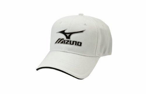 mizuno-branded-hat-aflex-white-size-xl 370140.WHITE.XL Mizuno New Mizuno Branded Hat Aflex White Size XL  Pre-curved bill Contrast
