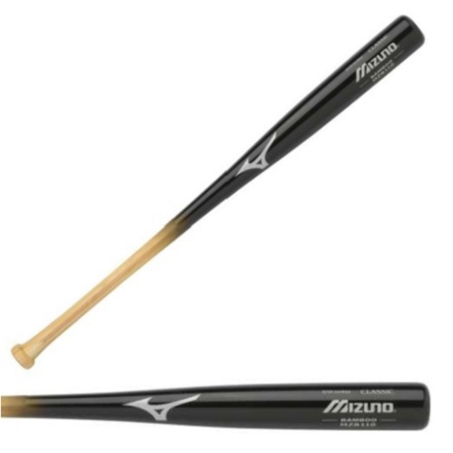 mizuno-classic-bamboo-mzb110-blk-nat-wood-baseball-bat-34-inch MZB110-34 Inch Mizuno 041969950517 Mizunos Custom Classic Series are relied on by the games best