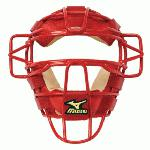 Mizuno Classic Catcher's Mask G2 (Red) : Mizuno Classic Catcher's Mask G2
