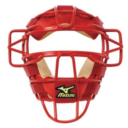 Mizuno Classic Catcher's Mask G2 (Red) : Mizuno Classic Catcher's Mask G2
