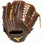 Mizuno Classic Future Youth Baseball Glove 12.25 GCP71F2 312408 Professional Patterns scaled down that provide more control for players with smaller hands. Throwback Leather is used on the Classic Future gloves, which is rugged, rich, and naturally pre-oiled for a quick break-in while retaining proper shape over time. The Roll Welting provides a cleaner look and stability through the fingers. The UltraSoft Pro Palm Liner leaves you with excellent feeling and has a soft finish, This gloves also comes with an Outlined Patch and has a Redesigned Thumb Felt, which is a slotted thumb felt for easy closure. Get your Mizuno Classic Future Youth Baseball Glove today, No Hassle Returns, Guaranteed! GCP71F2 Ball Glove Features:  Professional Patterns Throwback Leather Roll Welting UltraSoft Pro Palm Liner Outlined Patch Redesigned Thumb Felt 12.25 Outfield Pattern Ichiro Trapeze Web