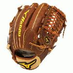 Mizuno Pro Future Baseball Glove for youth player wanting a pro level mitt. Roll Welting - Increases structure and support throughout the fingers.