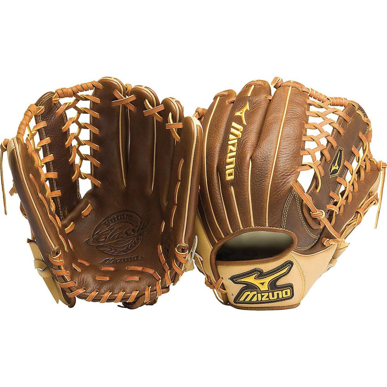 mizuno-classic-pro-future-gcp70f-baseball-fielders-mitt-1225-inch-left-ha GCP70F-Left Hand Throw Mizuno 041969262184 Mizuno Classic Pro Future GCP70F Infielder Glove Small Hand