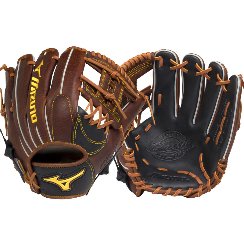 mizuno-classic-pro-soft-11-5-inch-gcp66s2-baseball-glove-right-hand-throw GCP66S2-RightHandThrow Mizuno 889961047640 Classic Pro Soft from Mizuno feature professional patterns created for the