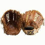 Mizuno Classic Pro Soft GCP79S Baseball Fielder's Mitt 12.75 Inch (Right Handed Throw) : The Mizuno GCP79S is a 12.75 Inch outfielder's glove made from Mizuno's Throwback Leather, creating a rugged and rich feeling ballglove that keeps its shape over time. Roll Welting increases structure and support, while our Ultra Soft Pro palm liner provides a soft feel.