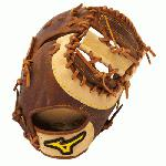 Mizuno Classic Pro Soft GXF28 First Base Mitt 12.5 (Left Hand Throw) : Mizuno GXF28 Classic Pro Soft First Base Mitt. Soft, pebbled, bio throwback leather for game ready performance and long lasting durability.