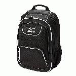 Fits up to 17 inch laptop computer. Easy Access pockets for valuables. Organization pocket. Adjustable shoulder strap.Water bottle mesh pouch.Dimensions 19 x 13 x 8