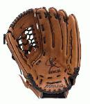 Mizuno oiled Durasoft leather for game ready playability. Finch Franchise Series fastpitch Softball Glove 12.5