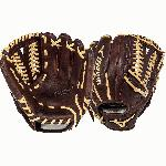 Mizuno Franchise Series GFN1151B1 Baseball Glove 11.5 inch (Right Handed Throw) : Mizuno Franchise Series have pre-oiled Java Leather which is game ready and long lasting. Hi-low lacing maintains the integrity of a fully laced web while providing added flexibility for easier closure. Parashock plus palm pad and comfortable hand based patterns. 11.5 Inch Pattern.