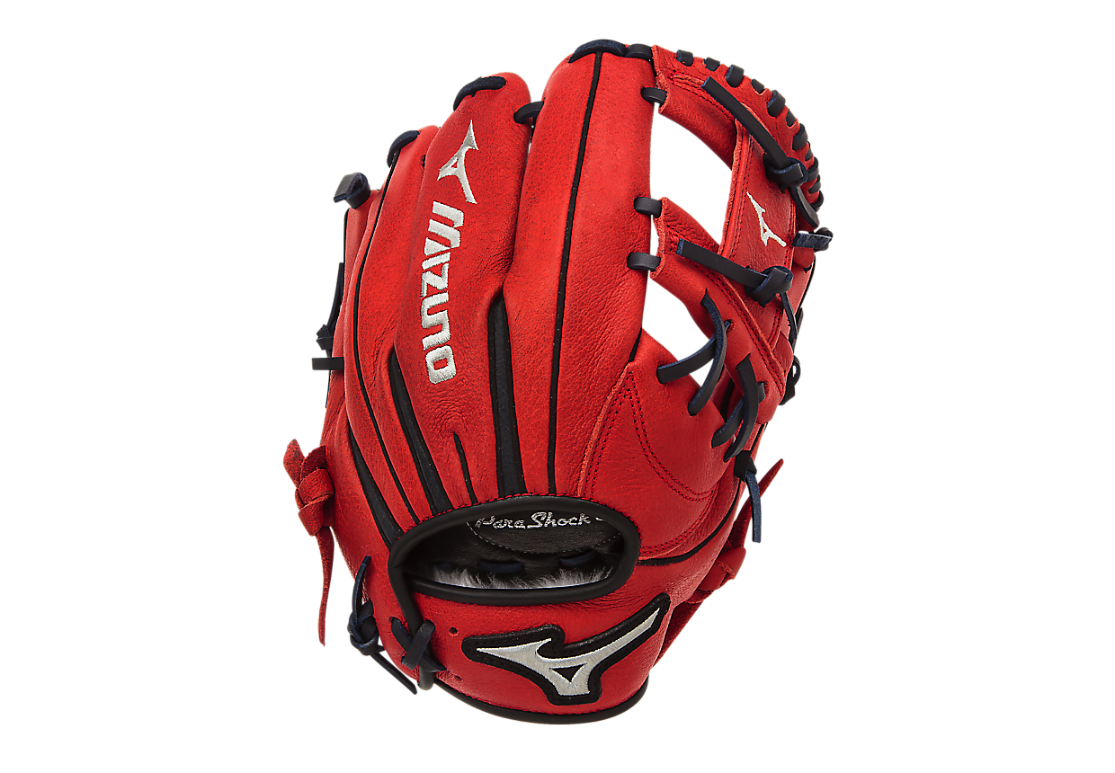 mizuno-franchise-series-gfn1151b1-red-baseball-glove-11-5-inch-right-hand-throw GFN1151B1RD-Right Handed Throw Mizuno 041969557754 Java Leather Pre-oiled tumbled leather that is game ready and long