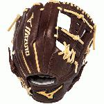 Mizuno Franchise Series GFN1176B1 Baseball Glove 11.75 inch (Right Handed Throw) : Mizuno Franchise Series have pre-oiled Java Leather which is game ready and long lasting. Hi-low lacing maintains the integrity of a fully laced web while providing added flexibility for easier closure. Parashock plus palm pad and comfortable hand based patterns. 11.75 Inch