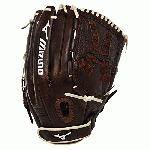 The Mizuno Franchise Fastpitch series has pre-oiled java leather which is game ready and long lasting. Parashock Plus palm pad and powerlock closure for maximum performance.