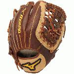 Mizuno GCF1250F1 Classic Fastpitch Softball Glove Peanut Right Hand Throw