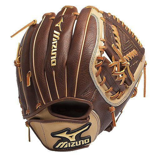 mizuno-gcf1253-classic-fast-pitch-softball-fielders-mitt-peanut-12-50-inch-right-handed-throw GCF1253-Right Handed Throw Mizuno New Mizuno GCF1253 Classic Fast Pitch Softball Fielders Mitt Peanut 12.50-Inch Right