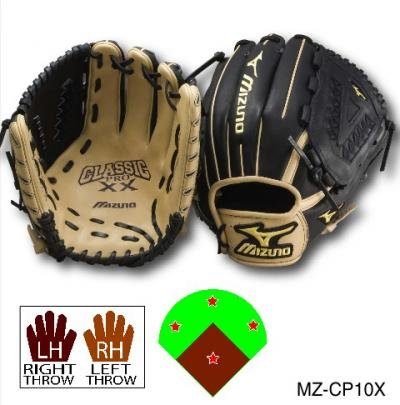 The GCP series is Mizunos most popular Pro Level glove, utilizing patented 3D Technology that has set the industry standard for position specific pattern designs. The ProXX features a new elite leather that is even softer and more durable than ever before.