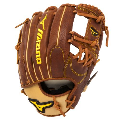 mizuno-gcp55s-classic-pro-soft-11-75-inch-baseball-glove-right-hand-throw GCP55S-Right Hand Throw Mizuno 041969111017 Throwback Leather - Rugged rich naturally pre-oiled leather that keeps its