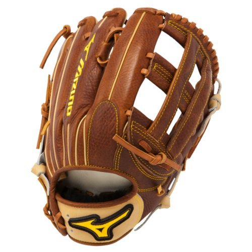 mizuno-gcp82s-classic-pro-soft-baseball-glove-12-75-inch-right-hand-throw GCP82S-Right Hand Throw Mizuno 041969111109 Throwback Leather - Rugged rich naturally pre-oiled leather that keeps its