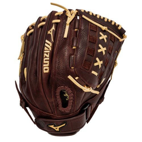 mizuno-gfn1250s1-franchise-slowpitch-softball-glove-right-hand-throw GFN1250S1-RightHandThrow Mizuno 041969125212 Pre-oiled Java leather is game ready and long lasting Hi-Low lacing