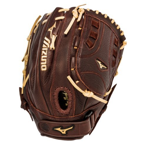 mizuno-gfn1300s1-franchise-slowpitch-glove-13-inch-left-hand-throw GFN1300S1-LeftHandThrow Mizuno 041969125229 13.00 Inch Pattern Closed Back Hi-Low Lacing - Maintains Integrity of