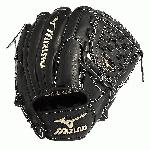 The Mizuno GGE10VBK is a 12.00-Inch pitcher's glove made from Japanese tanned, hand oiled VOP leather for an incredibly soft feel. Mizuno's Roll Welting technology increases structure and support throughout the fingers of the glove.