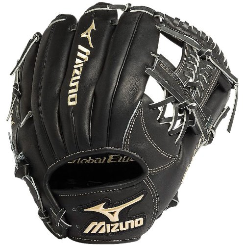 The Mizuno GGE50VBK is an 11.75-Inch infielder's glove made from Japanese tanned, hand oiled VOP leather for an incredibly soft feel. Mizuno's Roll Welting technology increases structure and support throughout the fingers of the glove. Over 200 pro baseball players trust their skills with Mizuno baseball gloves.  Vibration Oil Processing - Mizuno softens this leather and conditions the Global Elite leather from the inside out. Japanese tanned using the finest methods of leather working. Roll Welting provides more support for your fingers Rugged polyurethane patch 11.75 Infield Pattern Deep 3-L Web